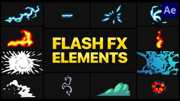 Videohive Flash FX Pack 05 | After Effects 30958506 - After Effects Project Files