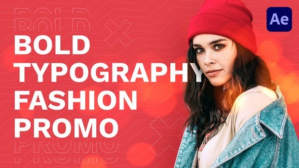 Videohive Bold Typography Fashion Promo 30573558 - After Effects Project Files