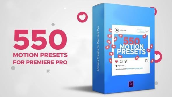 Videohive Motion Presets for Premiere Pro 23806261 - Premiere Pro Templates