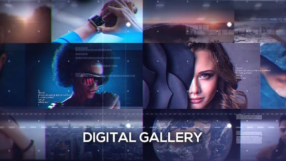 Videohive Digital Gallery 18255019 - After Effects Project Files