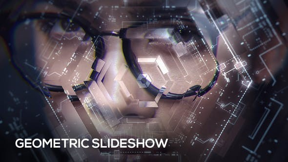 Videohive Geometric Slideshow 19981445 - After Effects Project Files