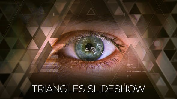 Videohive Triangles Slideshow 19227903 - After Effects Project Files