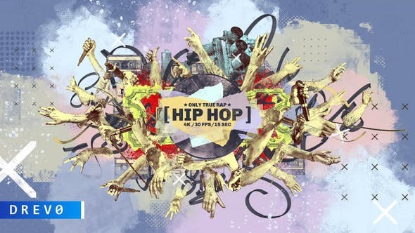 Videohive Hip-Hop Intro 31050690 - After Effects Project Files