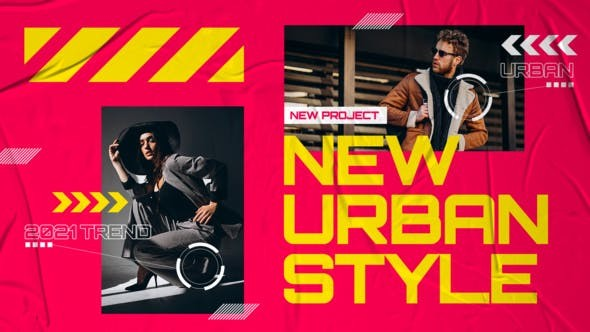 Videohive Creative Colorful Urban Fashion 31105764 - After Effects Project Files