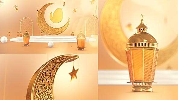 Videohive Golden Ramadan Intro 31230803 - After Effects Project Files