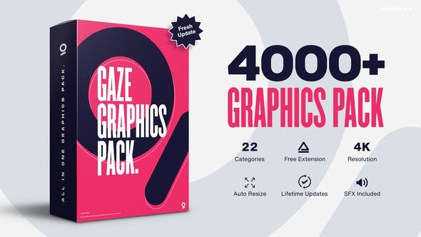 Videohive Graphics Pack // 4000+ Animation Pack V4.5 25010010 - After Effects Project Files