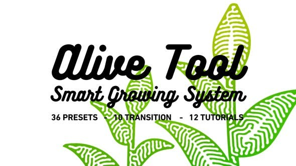Videohive Alive Tool: Smart Growing System 24396468 - After Effects Project Files