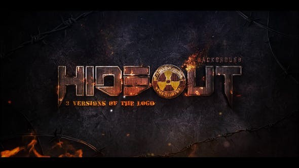 Videohive War Fire Logo 30881478 - After Effects Project Files