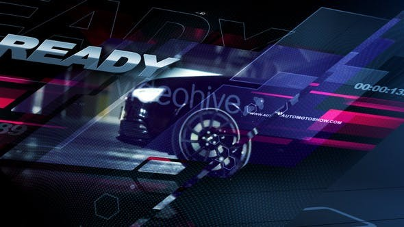 Videohive Auto Vision 31091658 - After Effects Project Files