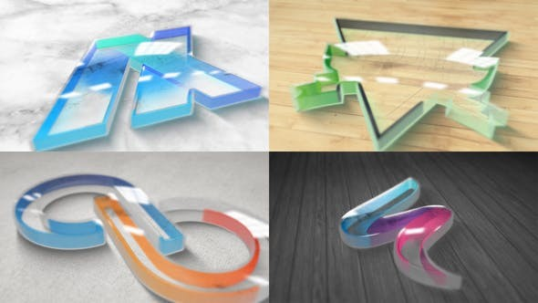 Videohive Perspex Plastic Logo Reveal 30757500 - After Effects Project Files