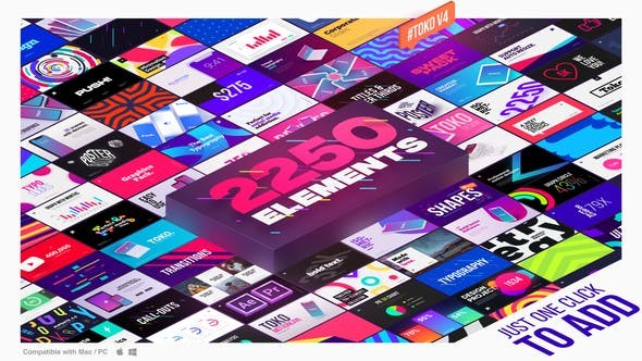 Videohive Graphics Pack V4.1 22601944 - After effects & Premiere Pro Templates
