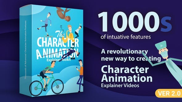 Videohive Character Animation Explainer Toolkit V2 23819644 - After Effects Project Files