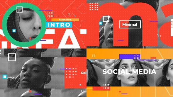 Videohive Social Media Opener 30809819 - After Effects Project Files