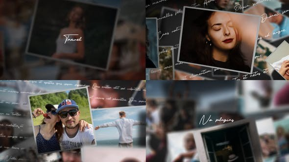 Videohive Slideshow My Life 29904609 - After Effects Project Files