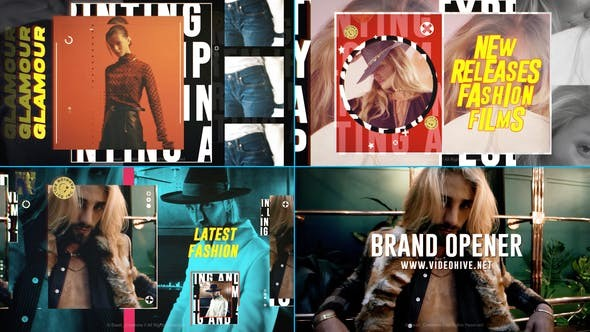 Videohive Fashion Brand Opener 29915784 - After Effects Project Files
