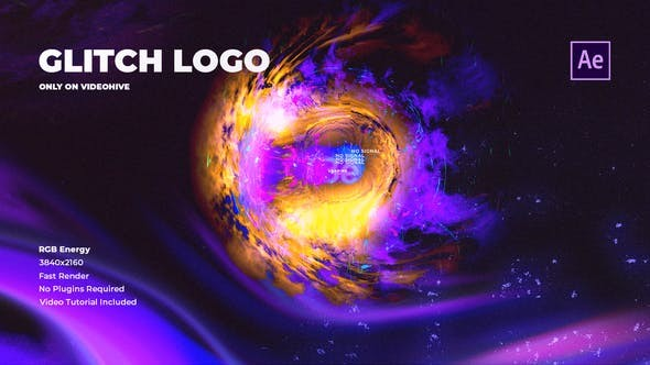 Videohive Glitch Logo Super RGB 31143158 - After Effects Project Files