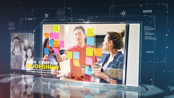 Videohive Tech Company Slideshow 29838336 - After Effects Project Files