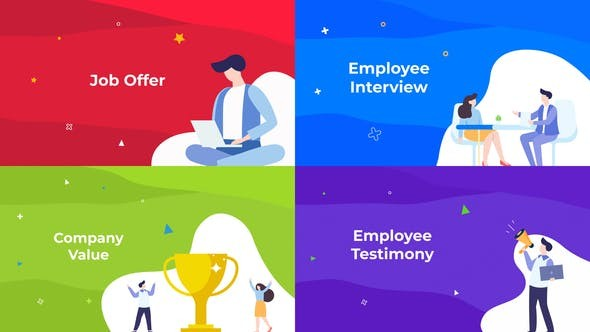 Videohive HR - Job & Company Resource 31893804 - After Effects Project Files