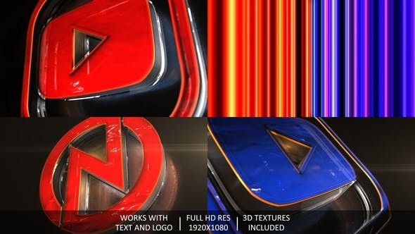 Videohive Broadcast 3D Logo Opener 31649783 - After Effects Project Files