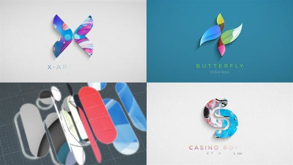 Videohive Drawing Elegant Logo 31030114 - After Effects Project Files