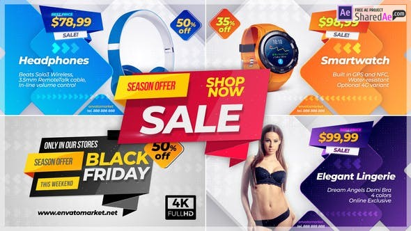 Videohive - Sale Promo - 23337412 - After Effect Project Files