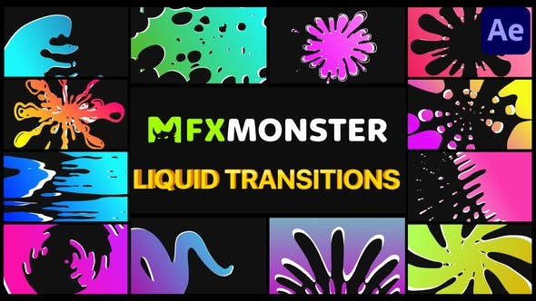 Videohive - Liquid Transitions | After Effects - 32113500 - After Effect Project Files