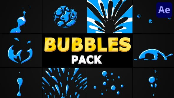 Videohive - Bubbles Pack | After Effects - 32119559 - After Effect Project Files