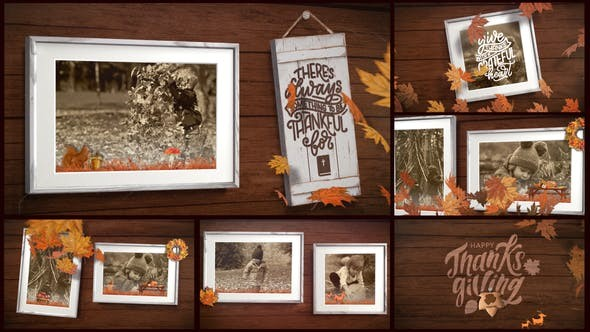 Thanksgiving Frames 29058073 - After Effects Project Files