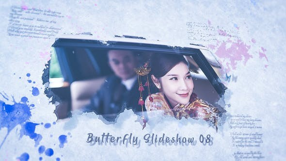 Butterfly Slideshow 31997826 - After Effects Project Files
