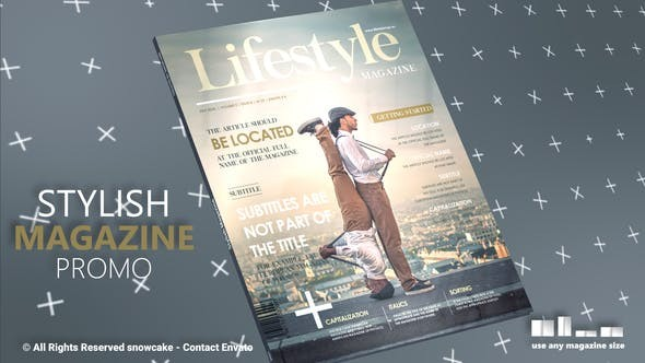 Stylish Magazine Promo 31941129 - After Effects Project Files