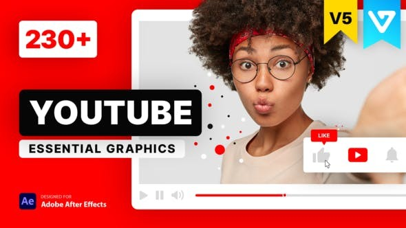 Youtube Essential Library V5 21601793 - After Effects Project Files