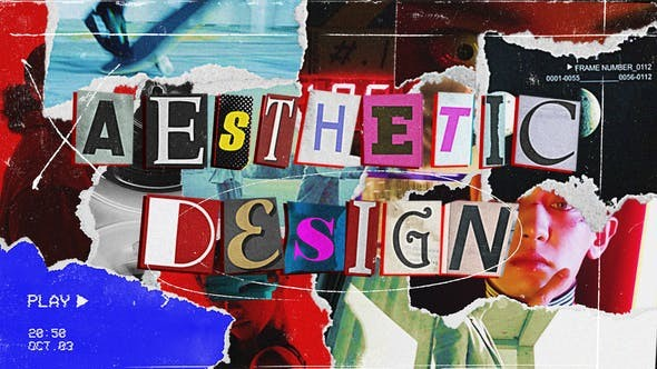 Aesthetics Collage 30443277 - After Effects Project Files