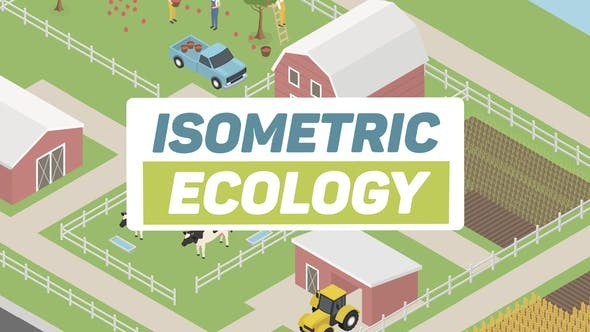 Ecology Isometric Green Energy 27270743 - After Effects Project Files