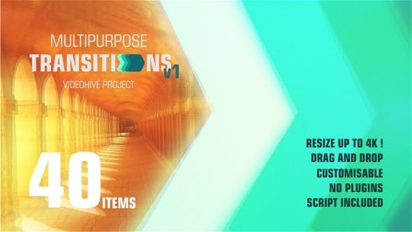 Super Transitions Kit 20737863 - After Effects Project Files