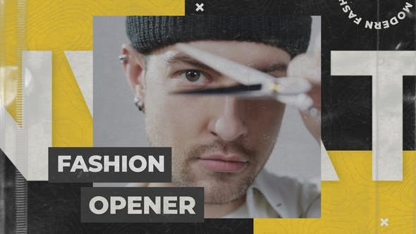 Modern Fashion Opener 31978283 - After Effects Project Files