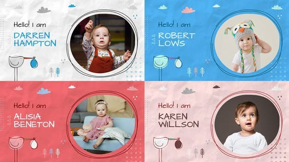 Baby Album Slideshow 32377511 - After Effects Project Files