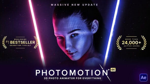 Photomotion - 3D Photo Animator (6 in 1) 13922688 - After Effects Project Files