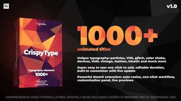 Titles V1.01 28464847 - After Effects Project Files
