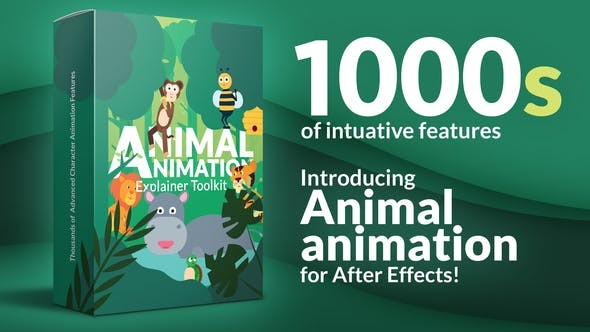 Animal Character Animation Explainer Toolkit  33034688 - After Effects Project Files