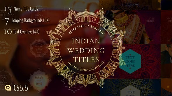 Indian Wedding Titles 33066361 - After Effects Project Files