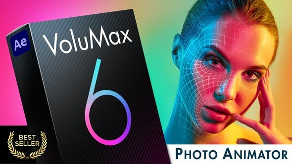 VoluMax - 3D Photo Animator 13646883 - After Effects Project Files