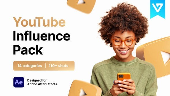 Youtube Pack Influence 33091756 - After Effects Project Files