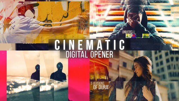 Cinematic Digital Opener - Multipurpose Slideshow 32635425 - After Effects Project Files