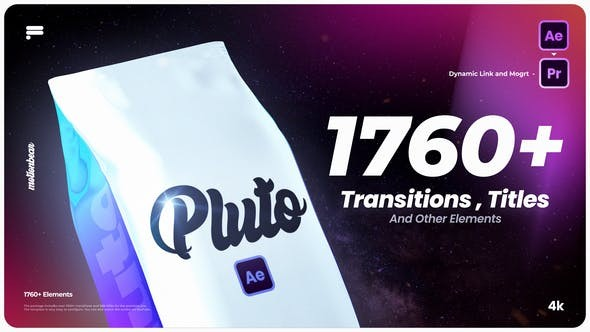 Transitions and Titles For After Effects 33048972 -  After Effects Project Files