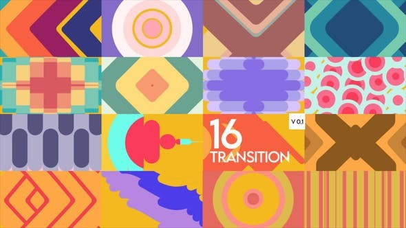 Transition Package 32084894 -  After Effects Project Files