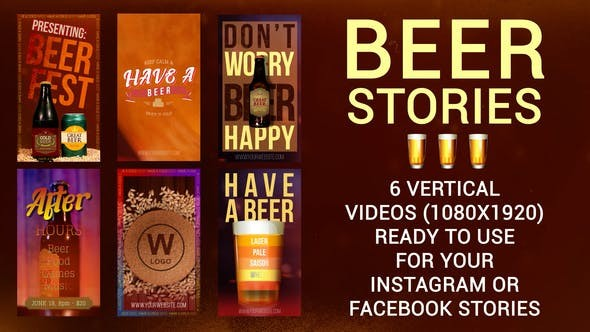 Six Beer Stories 33776081 - After Effects Project Files
