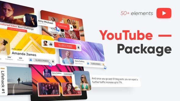 YouTube Package 33137931 - After Effects Project Files