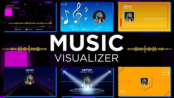 Music Visualizer Pack 33196162 - After Effects Project Files