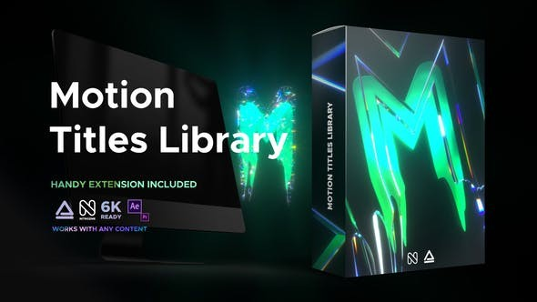 Motion Titles Library - Animated Text Package 33708192 - After Effects Project Files