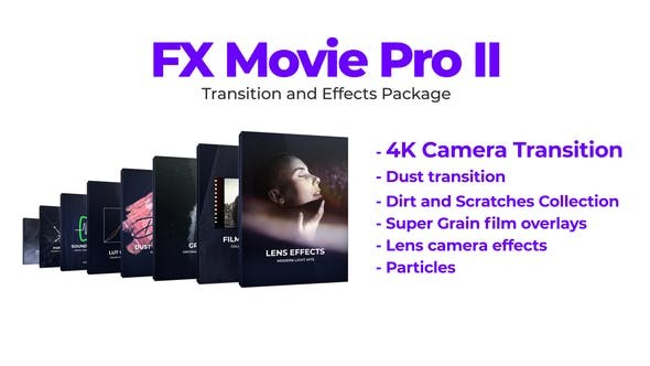 FX Movie Pro 2 Transition and Effects Package 34052744 - Premiere Pro Templates